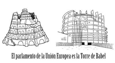La Unión Europea es la Torre de Babel.