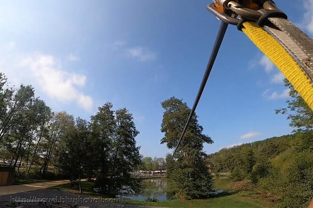 Durbuy Adventure Ziplining longest in Benelux