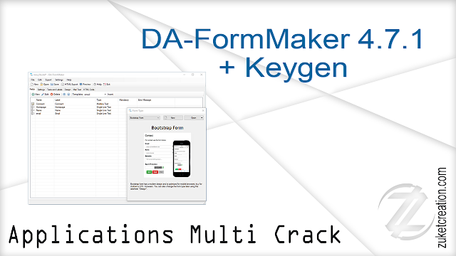 DA-FormMaker 4.7.1 + Keygen