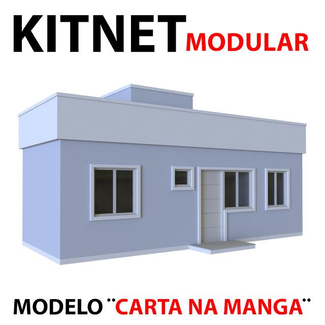 kitnet pequena e moderna