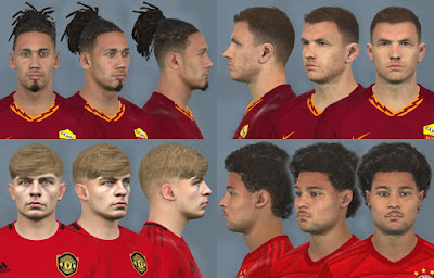 PES 2017 Facepack Nov 2019 Vol 2 by Dewatupai