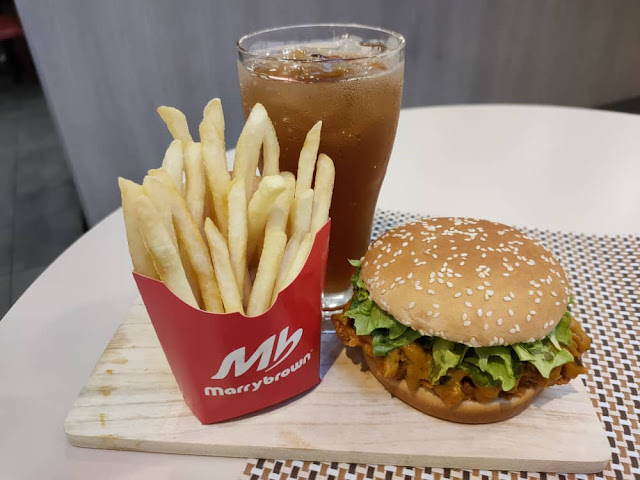 marrybrown hotouch burger
