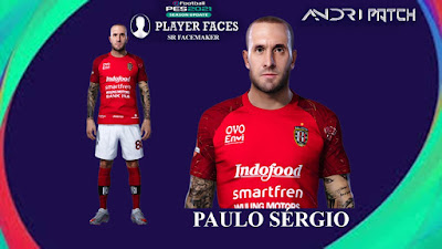 PES 2021 Faces Paulo Sergio by SR
