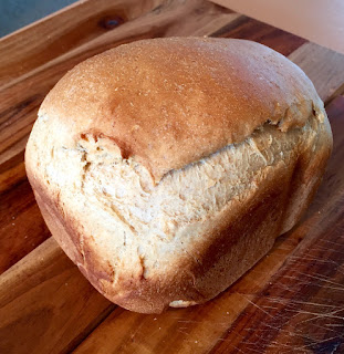 Spelt bread made in Bread Machine