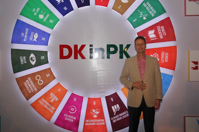 Danish Embassy Celebrated a Mega Event DK in PK in Karachi
