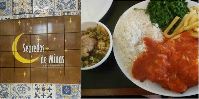 Onde comer em São Paulo - Segredos de Minas