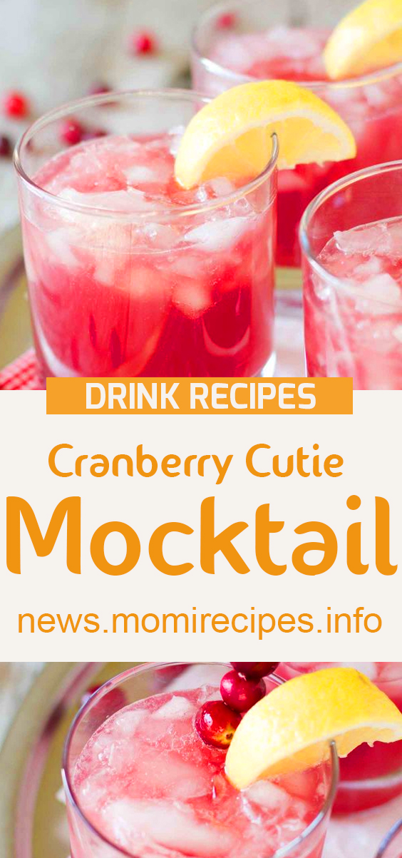 Cranberry Cutie Mocktail | drink recipes, cocktail recipes, cocktail, martini recipe, margarita recipe, mixed drinks, punch recipes, vodka cocktails, mixed drink recipes, cocktail drinks, cocktail mixer, cocktail ingredients, best mixed drinks, fruity mixed drinks, rum cocktails, good mixed drinks, easy cocktail recipes, alcoholic drink recipes, popular mixed drinks, tequila cocktails, beverage recipes, easy mixed drinks, best cocktails, cocktail drink recipes, vodka martini recipe, martini, summer cocktails, simple cocktail recipes, vodka mixed drinks, champagne cocktail. #drinkrecipe #healthydrink #cranberrycutiemocktail #mocktail