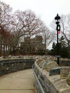 Gillette Castle Connecticut Holiday Decorations