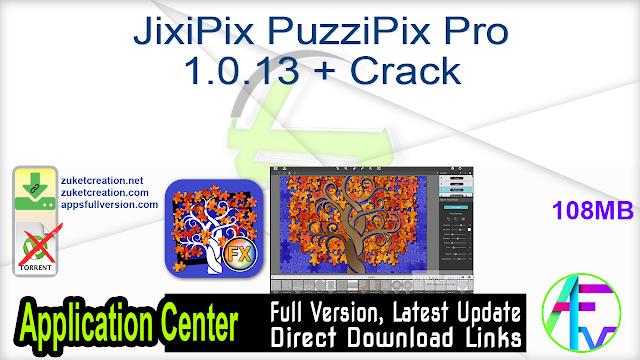 JixiPix PuzziPix Pro 1.0.13 + Crack