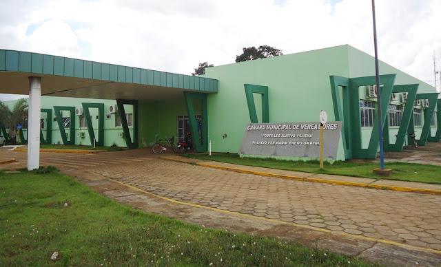 Em Vilhena Câmara de Vereadores paga 8 mil reais de salário a vereadores que estão presos
