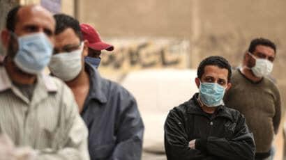 ارتفاع صاروخي في عدد الإصابات المؤكدة بفيروس كورونا في مصر ✍️👇👇👇