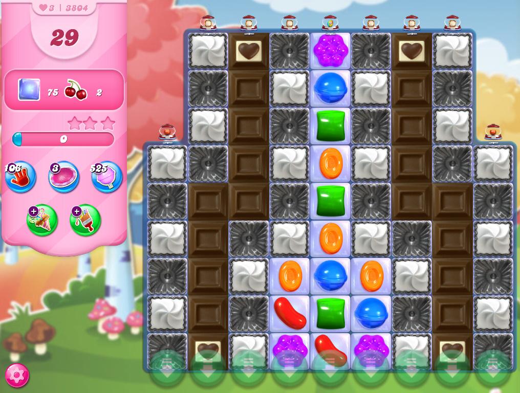 Candy Crush Saga level 3804