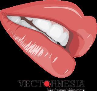Download Free Vector Bibir (Lips)