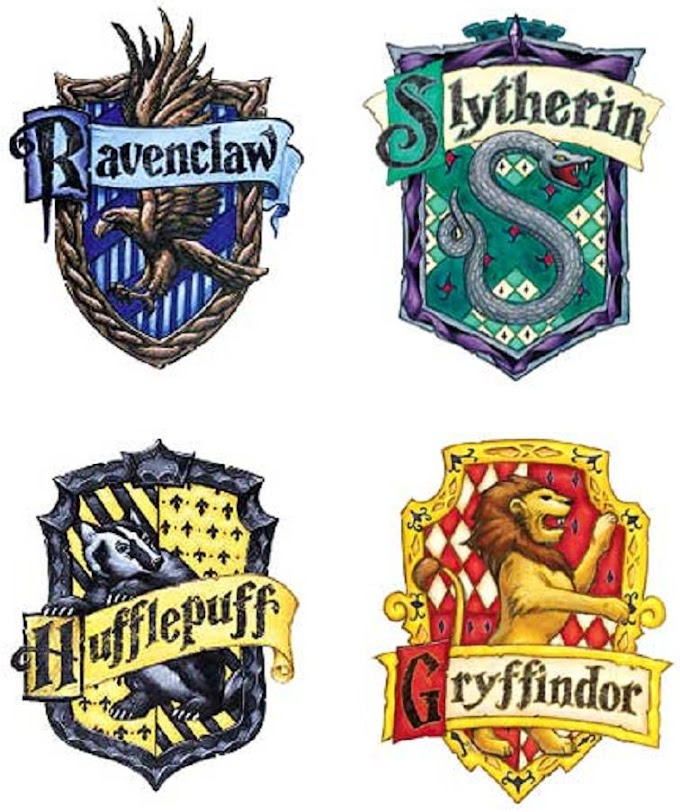 Houses of Hogwarts School of Witchcraft and Wizardry