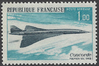 France Concorde Supersonic Jet