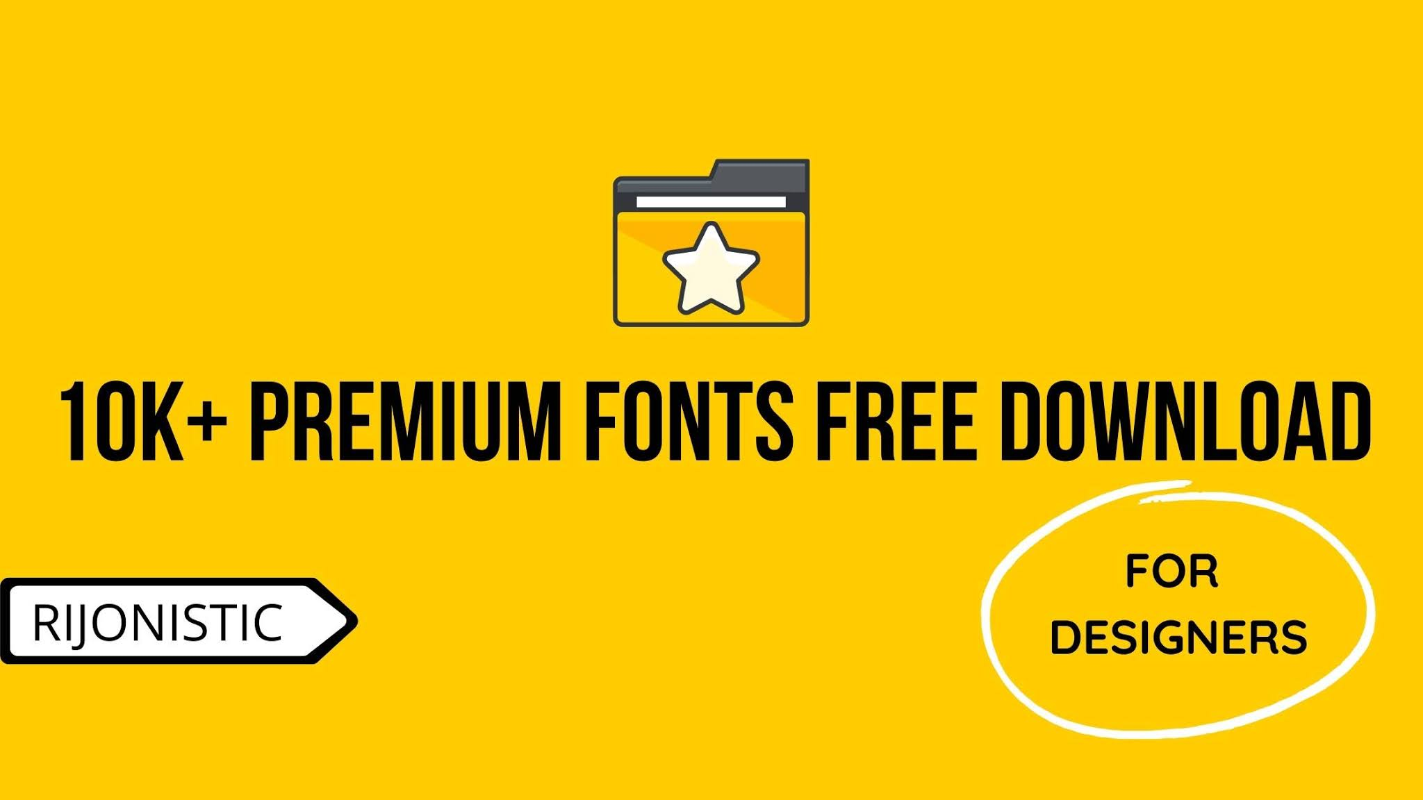 10k+ Premium Fonts Collection, Font Collection 2020, Premium Fonts, Download fonts,
