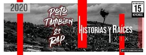 """15 de noviembre llega el festival de """"Poto También es Rap"""""""