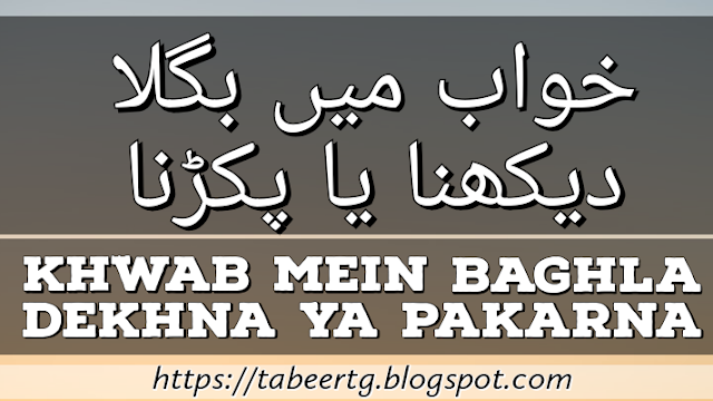 Khwab Mein Asmani Bijli Girna - Tabeertg
