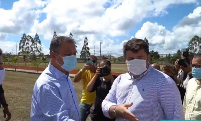 Prefeito de Entre Rios apresenta lista de pedidos feito ao governador Rui Costa