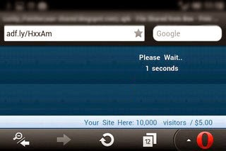 Cara Melewati Adf.ly Opera Mini di Android