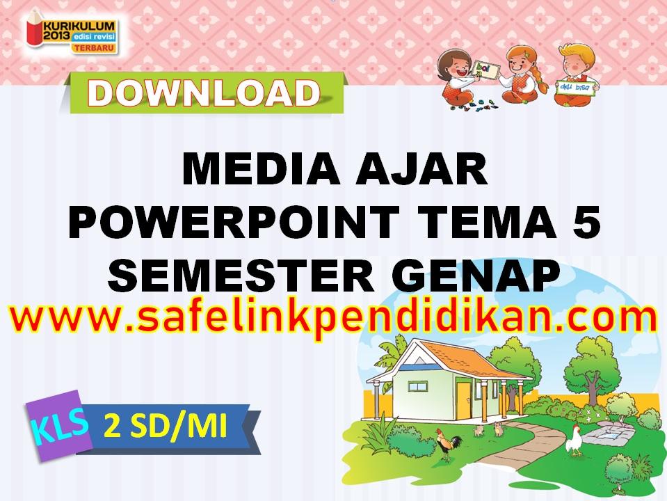 Media Ajar Powerpoint Tema 5