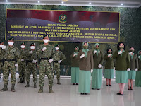 Pangdivif 2 Kostrad Pimpin Serah Terima Jabatan 3 Komandan Brigade Infanteri dan Komandan Resimen Armed