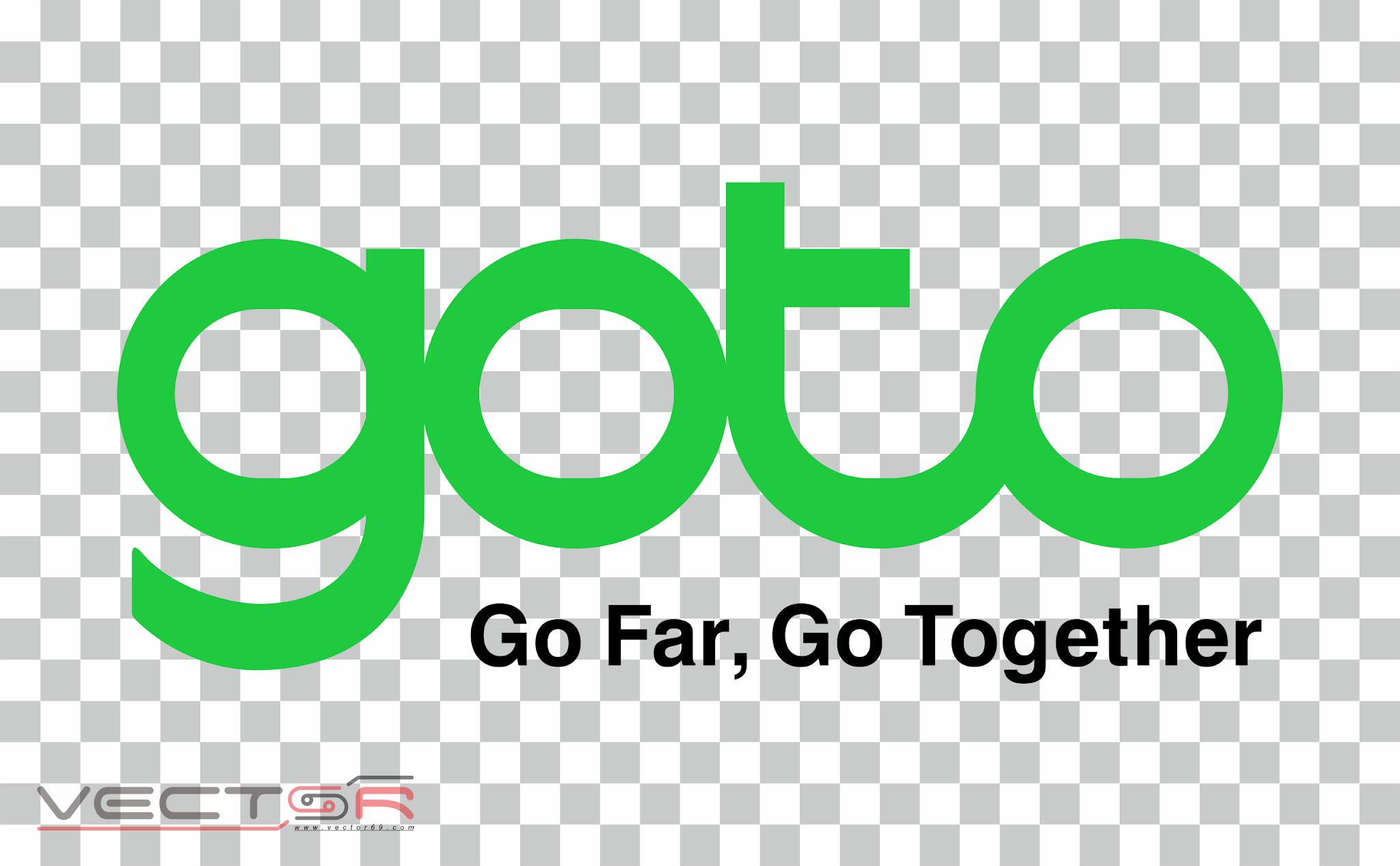 GoTo Group: Go Far, Go Together Logo - Download .PNG (Portable Network Graphics) Transparent Images
