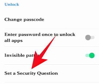 App lock password forgot kese kare 4