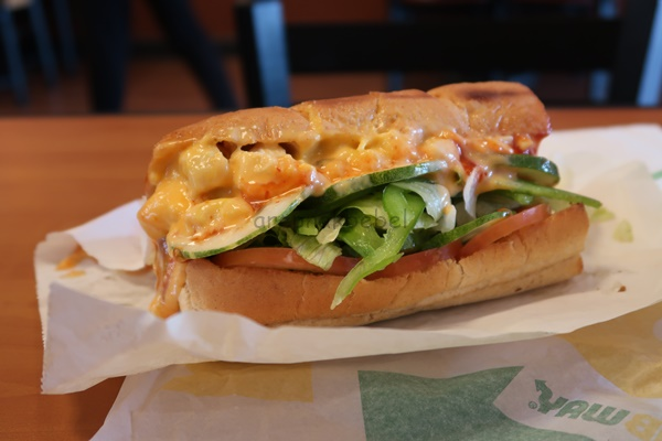 Pengalaman makan subway pertama kali