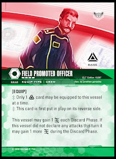Equip card: Field Promoted Officer