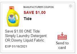 tide cvs coupon