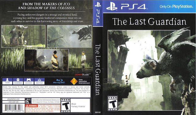 Capa The Last Guardian PS4