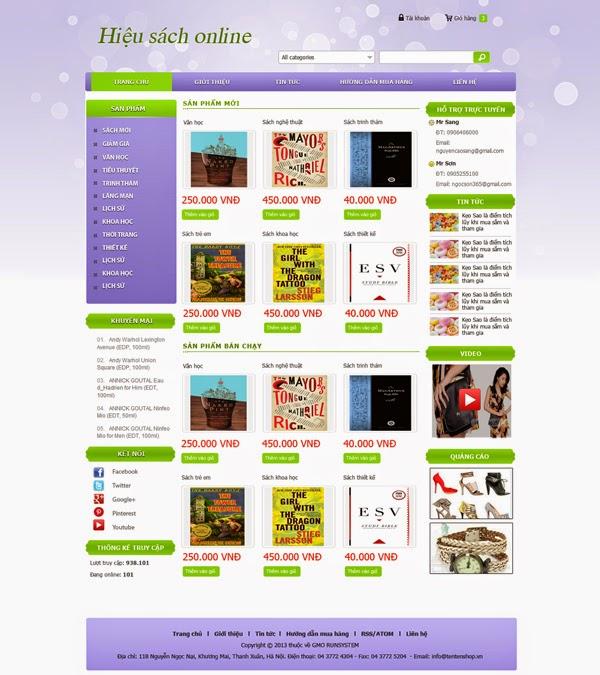 thiết kế website bán hàng gia dụng chuyên nghiệp