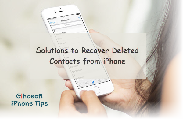Solutions To Contacts Randomly Deleted From Iphone X/8/7/6/5S