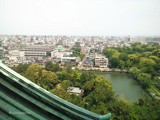 Suasana dari atas Nagoyajyou / Nagoya Castle
