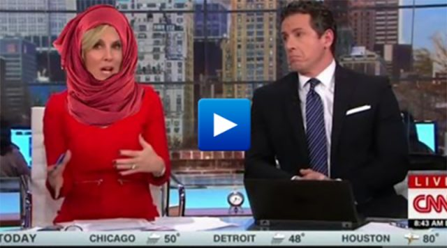 CNN reporter says American women should wear an Islamic veil to show respect and solidarity with Islam and Muslims .