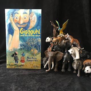 """""""Gigaguhl und das Riesen-Glück"""" Autor: Alex Rühle Illustrationen: Barbara Yelin Verlag: dtv junior"""