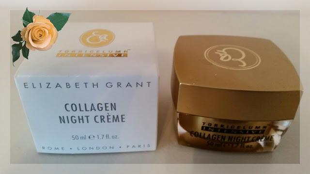 Elizabeth Grant Collagen Night Cream - silnie nawilżający krem z kolagenem na noc