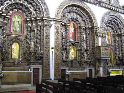 Altares da Igreja de Sã João Baptista