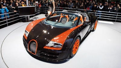 Bugatty Vayron Grand Sport