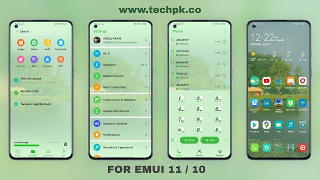 [Emui Themes] Early Summer Emui Theme For Emui 11 & Emui 10