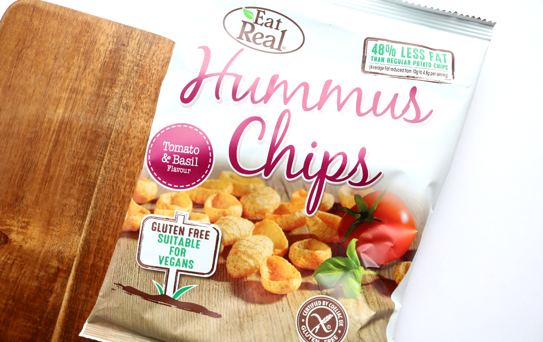 Eat Real Tomato & Basil Hummus Chips