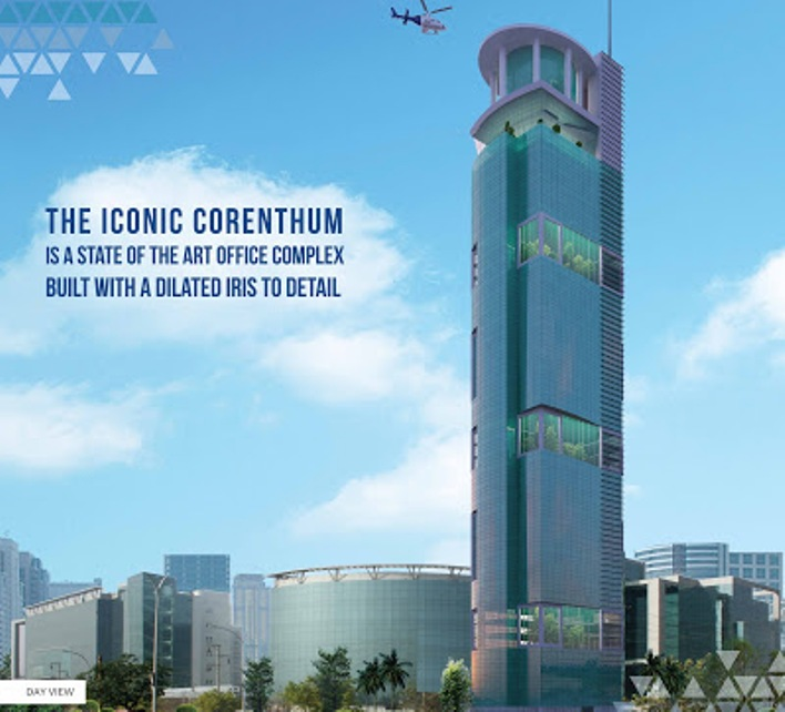 Iconic-corenthum-office-space-sector 62-noida
