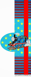 Thomas the Train Free Printable  Labels.