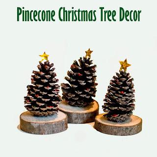 Pine Cone Christmas Tree Decor