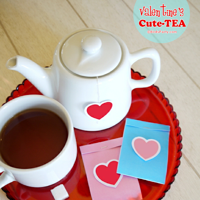 Valentine's Day Cute-TEA with Free Printables