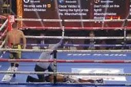 Oscar Valdez Rebut Gelar WBC Usai Kalahkan Miguel Berchelt di Ronde ke 10