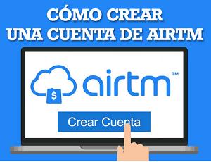 Abrir una cuenta en airtm