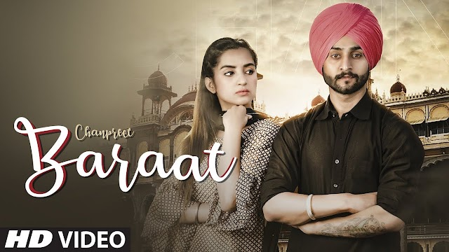 baraat lyrics - CHANPREET full song | lyrics place