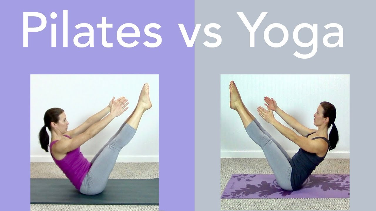 Difference Between a Pilates Workout and Yoga